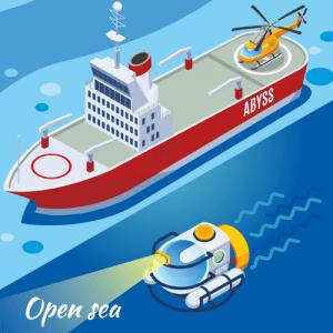 ABEL ROV open-sea lesson